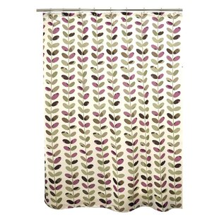 Vines Single Shower Curtain