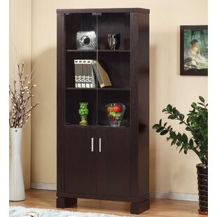 Tillia Contemporary Standard Bookcase by Latitude Run Wonderful