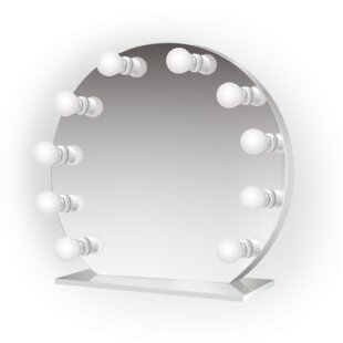 Shop For Laleia Round LED Lighted Vanity Mirror By Symple Stuff