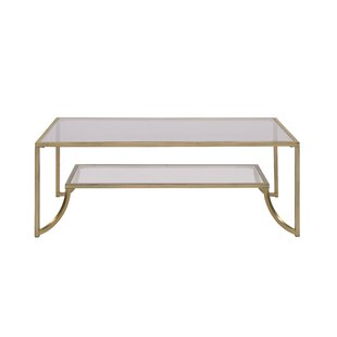 Rayden Coffee Table with Tray Top by Everly Quinn