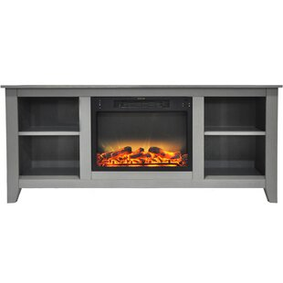 Brook Hollow TV Stand for TVs with Fireplace
