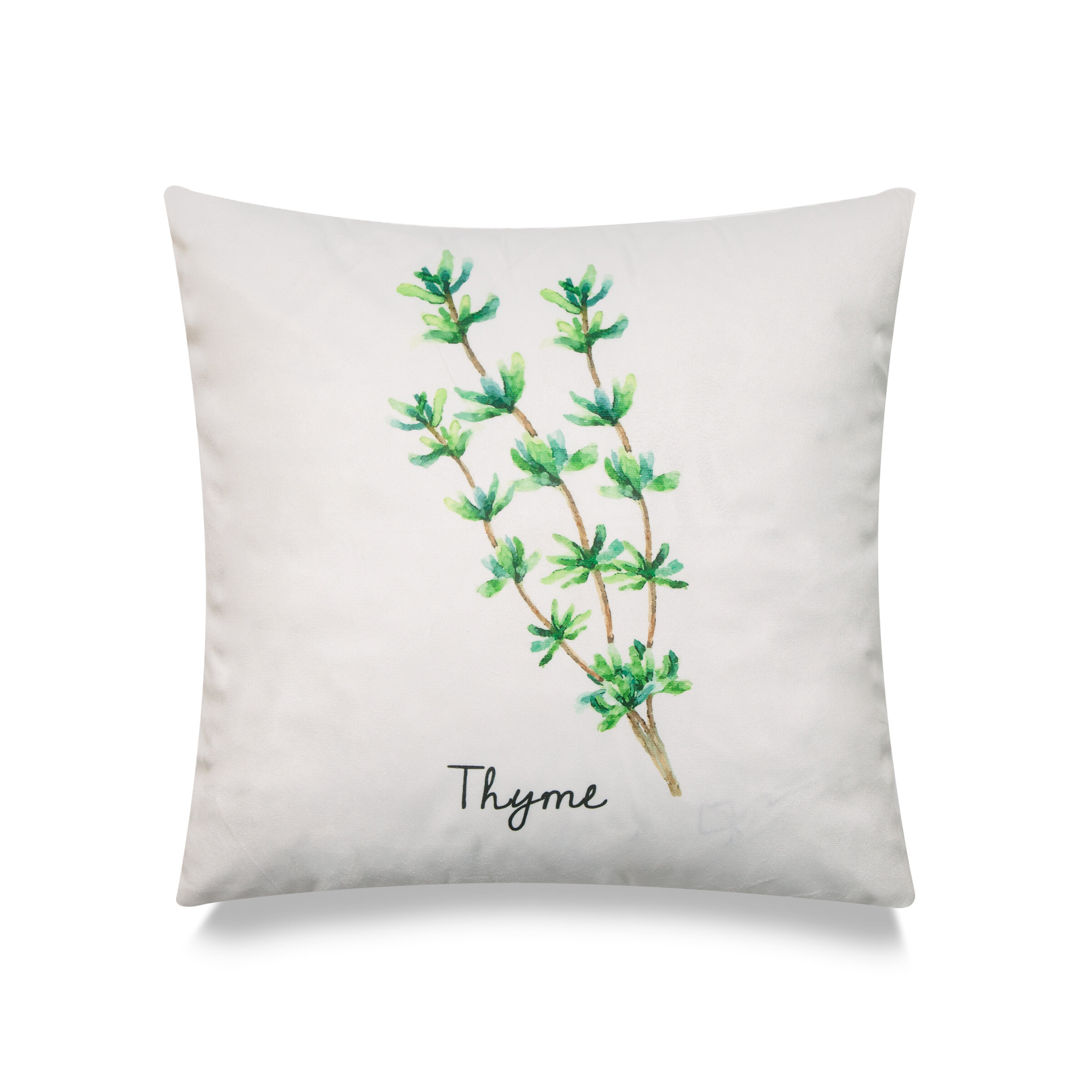 Gracie Oaks Kinnear Thyme Throw Pillow Cover Wayfair