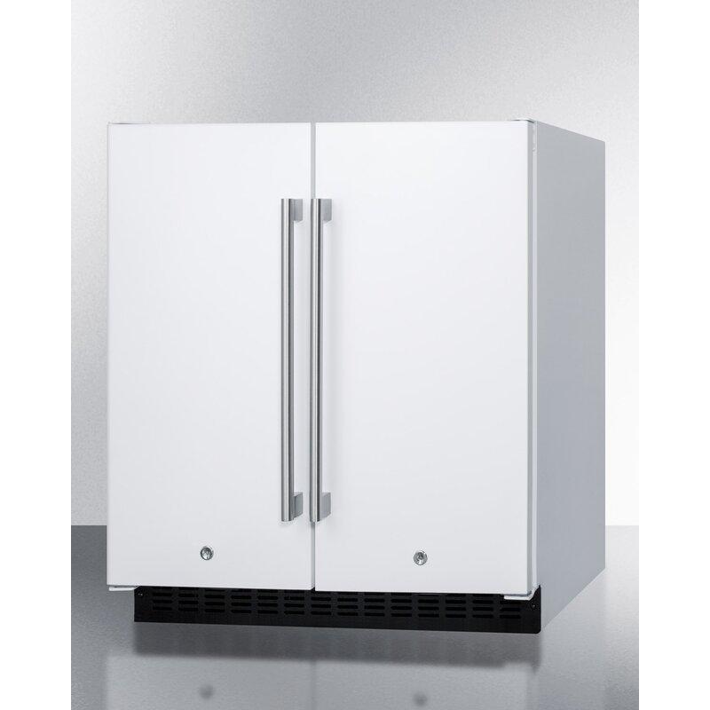 Convertible Undercounter Refrigerator With Freezer