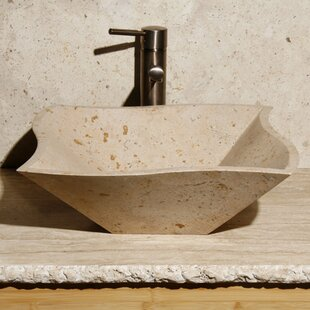 Comparison Stone Square Vessel Bathroom Sink ByAllstone Group