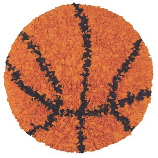 Great Price Hand-Woven Orange/Black Area Rug ByThe Conestoga Trading Co.
