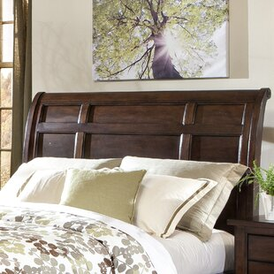 Pasley Sleigh Headboard by Winston Porter