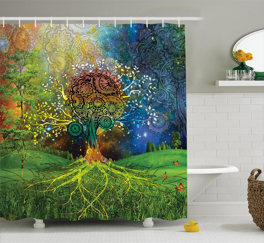 Appleton Mother Earth Zen Decor Shower Curtain