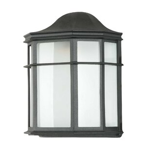 Best Price 1-Light Outdoor Flush Mount By Sunset Lighting