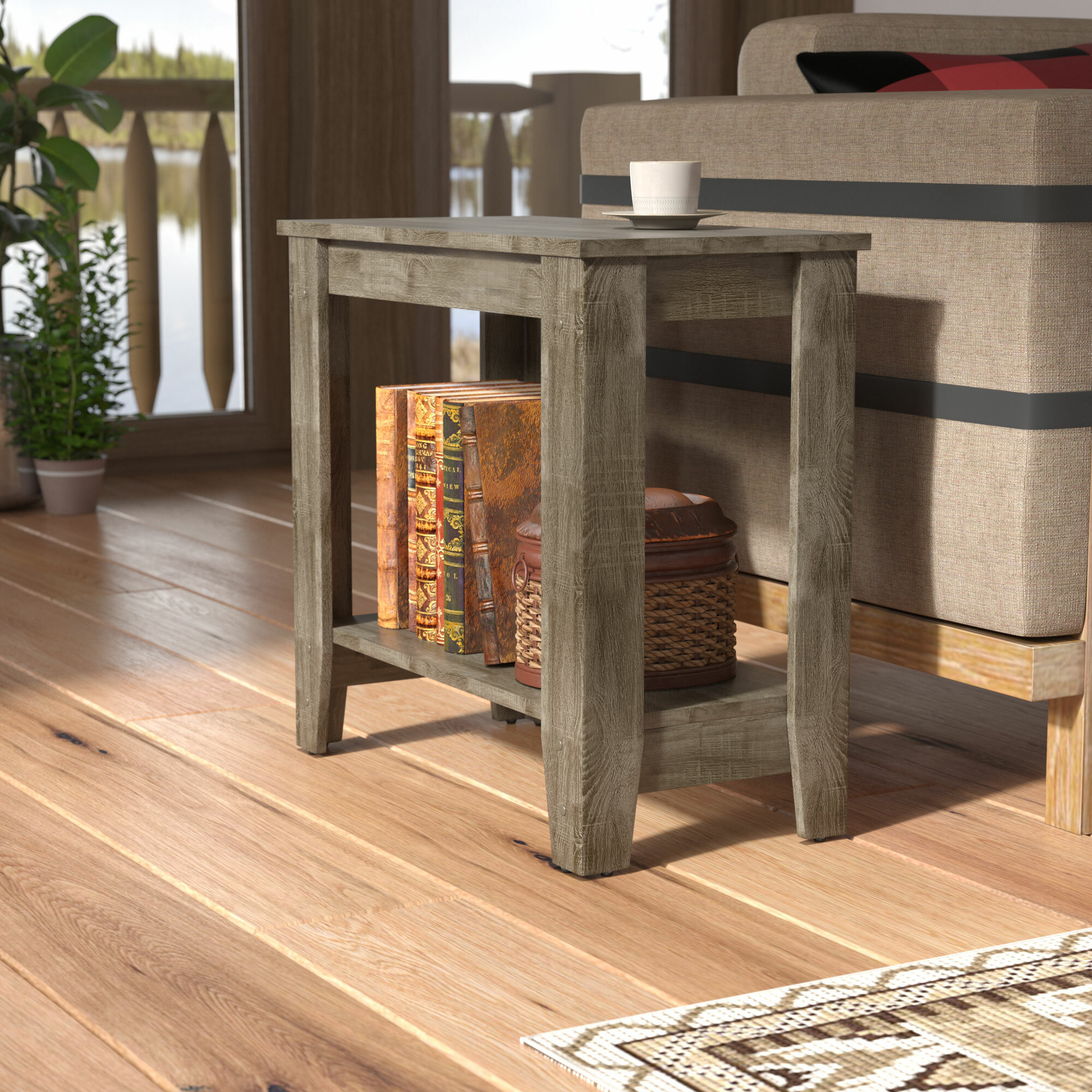 Laurel Foundry Modern Farmhouse Balderston End Table U0026 Reviews | Wayfair