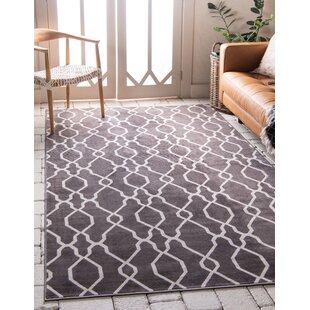 Ronna Dark Gray Indoor/Outdoor Area Rug