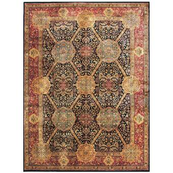 Tufenkian Donegal Branches Oriental Hand Knotted Wool Beige Black Rug Wayfair