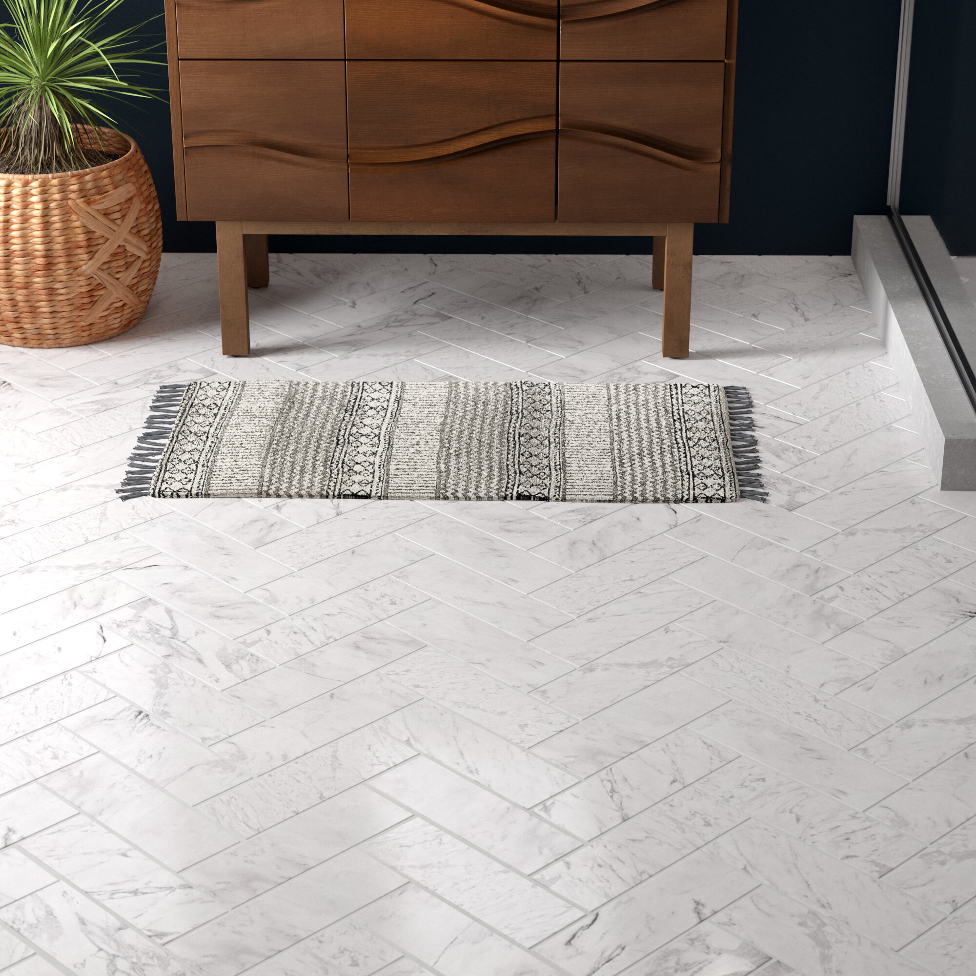 Madeline 4 X 12 Marble Subway Tile Reviews