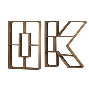 Maggio OK Geometric Bookcase by Union Rustic