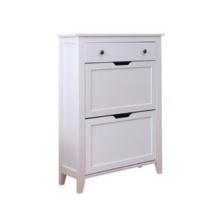 Wooden 12 Pair Shoe Storage Cabinet By August Grove