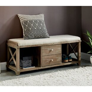 Reedsburg Wood Bench By Gracie Oaks