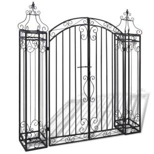 Rose Iron Arbour Gate