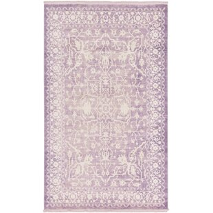 Vamyr Purple /Ivory Area Rug by Willa Arlo Interiors