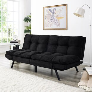 Portland Convertible Sofa by Simmons Futons