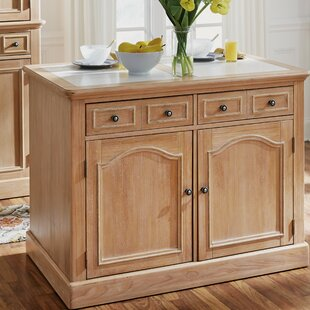 Romford Kitchen Island with Granite Top