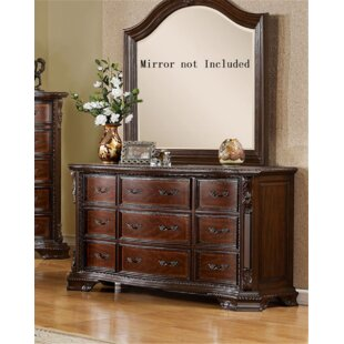 Leanne 9 Drawer Double Dresser