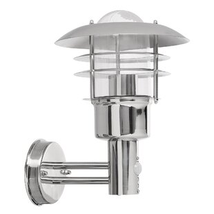 Elena Outdoor Wall Lantern With Motion Sensor By Sol 72 Outdoor