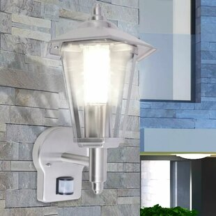 Chyna Outdoor Wall Light With Motion Sensor By Marlow Home Co.