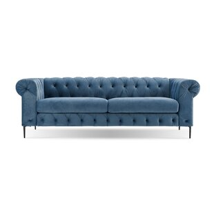 Coupon Kohlmeier Chesterfield Sofa by House of Hampton Reviews (2019) & Buyer's Guide