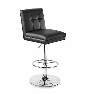 Anemone Adjustable Height Swivel Bar Stool by Orren Ellis