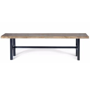 George Walnut Bench by Gingko Home Furnis..
