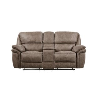 Dasheil Extra Plush Console Reclining Loveseat By Red Barrel Studio