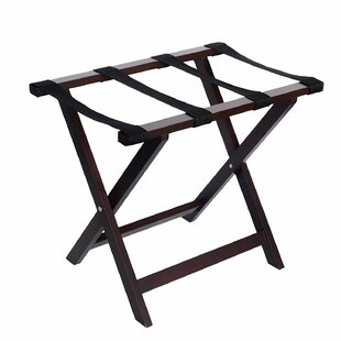 Find the perfect Wood Folding Luggage Rack By Welland LLC