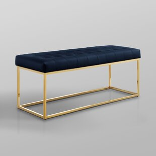 Reign Faux Leather Bench by Nicole Miller