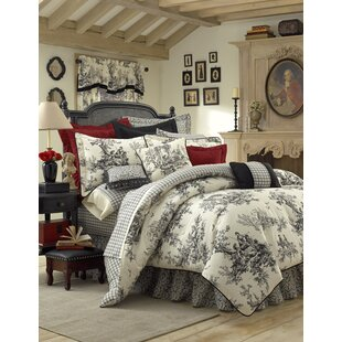 Adamstown At Home Bouvier 3 Piece Comforter Set