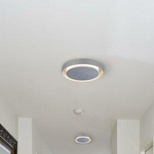 Latitude Run Portland 1-Light LED Circular Flush Mount