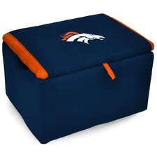 NFL Upholstered Storage Ottoman by Imperial