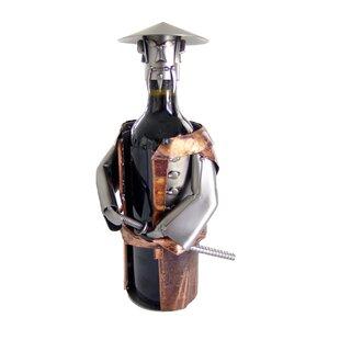 Samurai 1 Bottle Tabletop Wine Rack