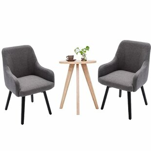 Wrought Studio Samara Upholstered Dining Chair (Set of 2)