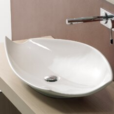 Budget Kong Ceramic Oval Vessel Bathroom Sink By Scarabeo by Nameeks
