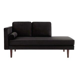 Modern Black Chaise Lounges Allmodern
