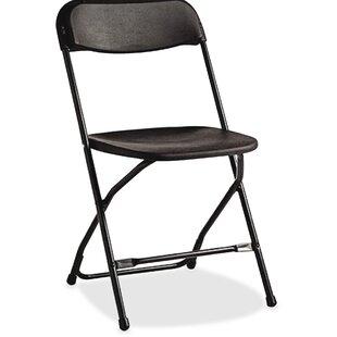 Plastic Folding Chair by Samsonite