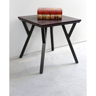 Great choice Mikesha End Table by Gracie Oaks