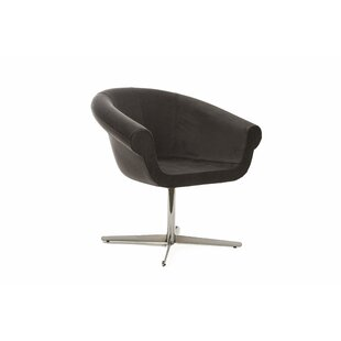 Mazzola Swivel Barrel Chair by Ivy Bronx