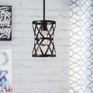 Wrought Studio Prange 1-Light Geometric Pendant