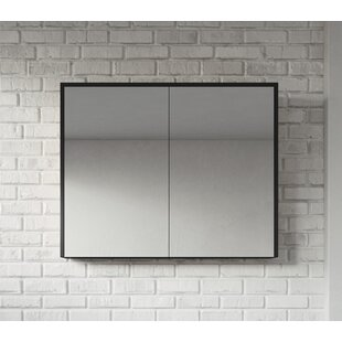 Kesington 90cm X 72cm Surface Mount Mirror Cabinet By Ebern Designs