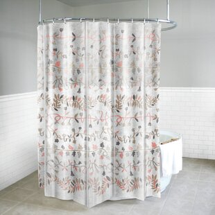 Massie PEVA 4G Ivy Vinyl Single Shower Curtain Liner