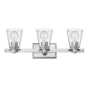 Hollifield 3-Light Vanity Light By Latitude Run Wall Lights