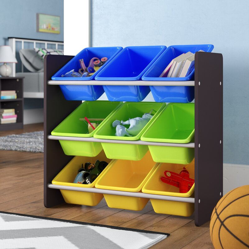 Superbe Forney 3 Tier Kidu0027s Toy Storage Organizer