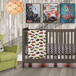 Find Fast Track Crib Skirt By Glenna Jean