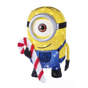 Minion Tinsel Lawn Figurine