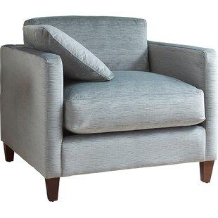 AllModern Custom Upholstery Victoria Armchair